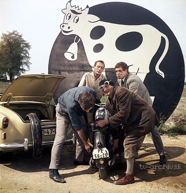Martin a červené sklíčko 1966