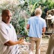 Sanaa Lathan (Kenya Denise McQueen), Simon Baker (Brian Kelly), Donald Faison (Nelson McQueen)
