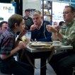 Tom Hanks (Thomas Schell), Stephen Daldry, Thomas Horn (Oskar Schell)