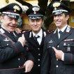 Nino Frassica (Maresciallo Cecchini), Simone Montedoro (Cap. Giulio Tommasi), Pietro Pulcini (Brigadiere Ghisoni)