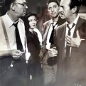 David Niven ('Jeffrey Collins'), Peter Leeds (Bill Lorrimer), John McIntire, Amzie Strickland
