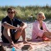 Jason Clarke (Ted Kennedy), Kate Mara (Mary Jo Kopechne)