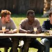 Will Poulter (Mark), William Jackson Harper (Josh), Jack Reynor (Christian)