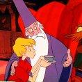 Junius Matthews (Archimedes), Rickie Sorensen (Wart), Karl Swenson (Merlin)