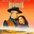 John Wayne (Thomas Dunson), Joanne Dru (Tess Millay)